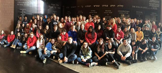 Sophomores at Holocaust Museum