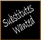 Substitute Teachers Wanted Image